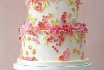 Decorating ideas / Floral cake