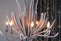 Aloe chandelier