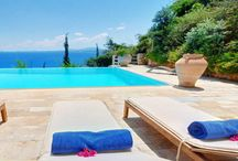 Villa Bianca #Corfu #Greece #Island / Villa Bianca is part of a newly built complex of 3 private independent luxurious villas, located right above their private beach in Prinias area, between Ipsos and Barbati, a unique position on the east coast of the island of Corfu. http://www.mygreek-villa.com/fr/rent-villa-search-2/villa-bianca