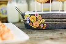 Cute as a Button / Baby shower