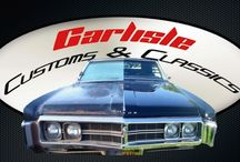1969 Buick Wildcat / Resurrected by Carlisle Customs & Classics, this 1969 Wildcat came to CCC in severe disrepair.  Never the less, CCC successfully restored this vehicle to better than new condition with all NOS parts, a new frame, suspension, rebuilt engine, new interior, rebuilt and recovered convertible top, and a smooth body with glossy, mirror-like black paint.    Bring your next project to Carlisle Customs & Classics, where building the car of your dreams... is our reality.