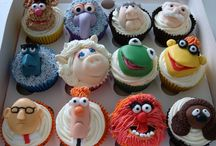 Muppet cupcakes/cakes/cookies / by Eva Kathmann