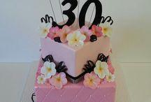 torta 40 rosa