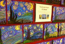 paysage - La nuit étoilée