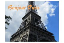 Paris Travel Postcards