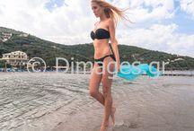 Fashion Photography on the beach / Fashion Photography on the beach.