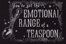 The Range of My Emotion is a Teaspoon / by Carrie Kintz