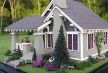 Themed dollhouses