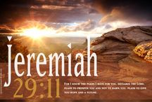 Jeremiah / verses from the book of Jeremiah