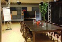 Media Park Event Studio's / De Media Park Event Studio's zijn gevestigd op het Media Park in Hilversum. We hebben studio's van verschillende afmetingen geschikt voor vergaderingen van 10 - 300 personen.