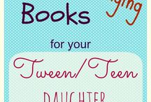 Great Reading for Your Tween Girl / It's sometimes hard to find quality, age-appropriate reading for tween girls- here are some titles to consider.