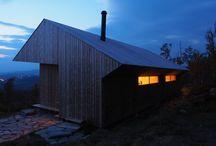 Arkitektur / Arkitektur hytte fjellhytte utsikt Rennedalen Ustaoset Norge