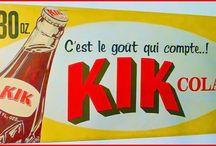 Souvenirs: Québec Cola & Kik Cola