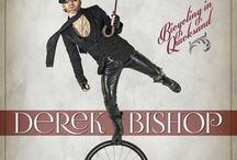 """Derek Bishop Music / Just a board with pics and more of me playing live and from my """"Bicycling in Quicksand"""" album, photoshoots and videos"""