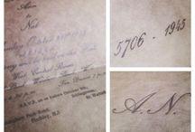Vintage / Vintage wedding invitations