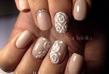 Virágos nails