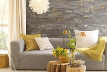wall tiles living room