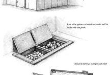 jordkjeller/kjøleskap
