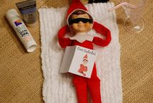 Elf on the shelf / I love the little elf it makes my home so peaceful and fun! / by Kaitlyn Wharton