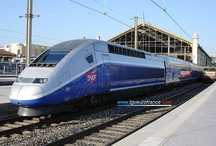 high-speed trains / Pictures of high-speed trains in France and Europe: TGV and Eurostar trainsets in France and England