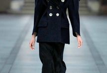 fw13 paris schoolgirl inspiration and catwalk