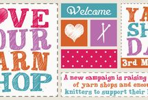 Love Your Yarn Shop / In support of Let's Knit Love Your Yarn Shop Day