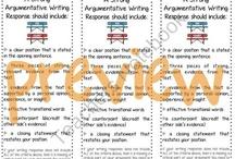 Argumentative writing / by Linda Farina-Lunz