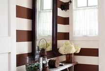Brown Paint / Projects using brown paint.