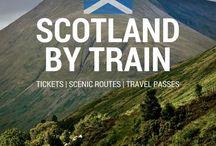Travel Scotland by train