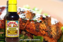 Seafood Spices, Marinades & Sauces / Flavor up your seafood with the smokey flavors of mesquite an hickory!