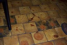 timber cut floor