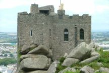 Carn Brea Castle / I'm working on a modern Gothic short story using Carn Brea Castle as the inspiration for my setting, so thought I collect some Carn Brea Castle images together for my research.