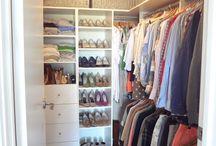 my closet redo