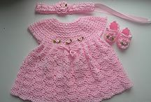 crpchet baby dress