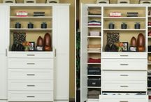 Wardrobes / Lets hide your piles of clothes in a sleek wardrobe!