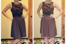 Vestido costura