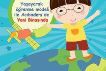 Asfa Gönül Aydınlığı Çocuk Kulübü Yaşayarak öğrenme modeli ile Acıbadem'de yeni binasında. / Asfa Gönül Aydınlığı Çocuk Kulübü Yaşayarak öğrenme modeli ile Acıbadem'de yeni binasında.