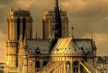 Paris Cathedrals and Churches / Paris cathedrals and churches pictures: Notre Dame, Sacré Coeur, Saint-Eustache...