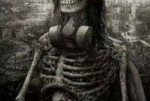 Dark illustration / Illustration