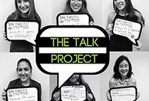 The Talk Project / The Talk Project is a FREE peer-to-peer sexual violence awareness program for high school students. Teen peer educators from across Los Angeles visit high schools and youth groups throughout LA to present an interactive program about sexual violence and consent.