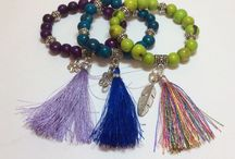 Jewelry with tassels