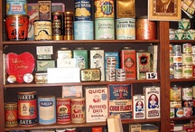 old cans and labels!!