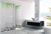 Shower enclosures / Shower enclosures that fit in any project, fitting your mood. Made-to-measure and customized at your own fashion.