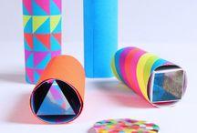 DIY COLORES : activités manuelles en couleurs... / Découvrez des activités créatives pour en voir de toutes les couleurs !