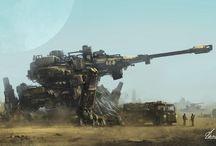 mech/war machines
