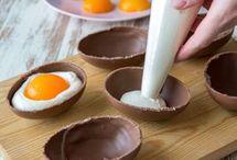 täytetty suklaamuna