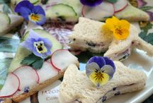 high tea flowers recipe ideas