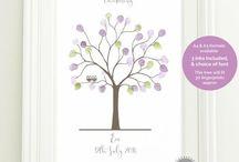 Fingerprint Trees for Christenings