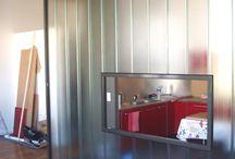 Claustras / Séparation entrée et cuisine