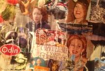 Collage 2013 / Deze collage heb ik geplakt eind 2012. Een collage maakt voor mij mijn onbewuste bewust. Elk beeld op de collage vertegenwoordigt iets voor mij, wat ik beschrijf op de achterkant. Voor elk ontwerp verschijnt een project, en elk project blijkt elk jaar weer vanzelf gerealiseerd te zijn. In de tientallen jaren dat ik collages maak, brengen zij mij steeds weer de krachtigse inspiratie en de mooiste verrassingen.
